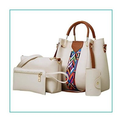Women Fashion Handbags Tote Bag Shoulder Bags Top Handle Satchel Purse Sets 4Pcs Valentine Day Gift For Women Mom Girlfriend【並行輸入