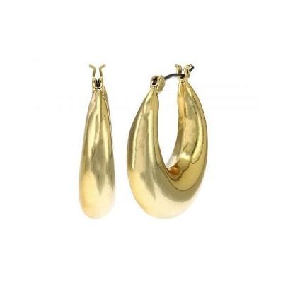 Madewell レディース 女性用 ジュエリー 宝飾品 イヤリング Shiny Click Top Medium Hoop Earrings - Vintage Gold