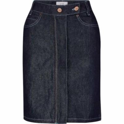 ヴィクトリア ベッカム Victoria Victoria Beckham レディース ミニスカート スカート High-rise denim miniskirt Raw