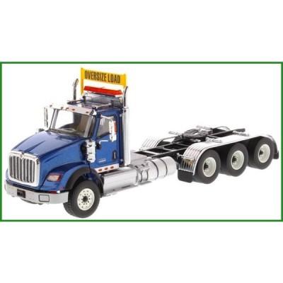 DIECAST MASTERS インターナショナル HX620 Tridem トラクター メタリックブルー 1/50スケール 71010|b03