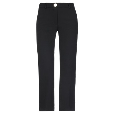CRISTINAEFFE パンツ ブラック 40 ナイロン 87% / ポリウレタン 13% パンツ