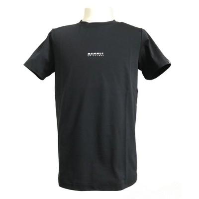 アウトドアシャツ マムート QD Logo Print T-Shirt AF Men's M 00253(black PRT1)