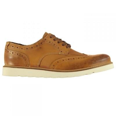 ファイヤートラップ Firetrap メンズ 革靴・ビジネスシューズ ブローグ シューズ・靴 Brantford Brogues Tan