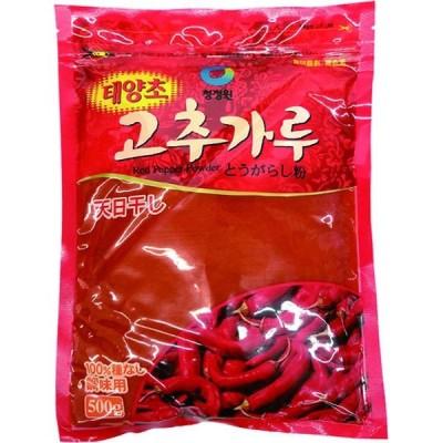 ハッピー食品 唐辛子粉(調味用)500g 6934163100342 20個(直送品)