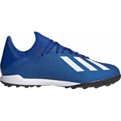 アディダス レディース スニーカー シューズ adidas Men's X 19.3 Turf Soccer Cleats Blue/White