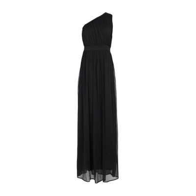 LA KORE ロングワンピース&ドレス ブラック 1 100% ポリエステル ロングワンピース&ドレス