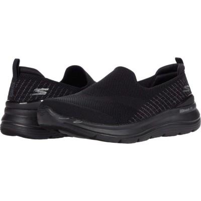 スケッチャーズ SKECHERS Performance レディース シューズ・靴 Go Walk Stretch Fit - 124385 Black