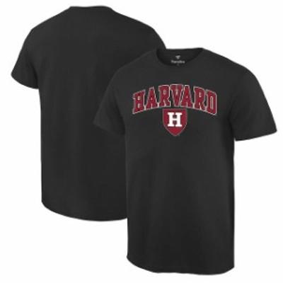 Fanatics Branded ファナティクス ブランド スポーツ用品  Harvard Crimson Black Campus T-Shirt