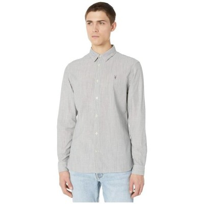 オールセインツ メンズ シャツ トップス Bedford Long Sleeve Shirt