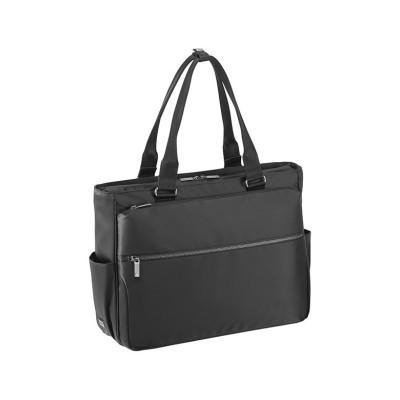 【カバンのセレクション】 エースジーン トートバッグ ビジネストート メンズ B4 ファスナー付き 軽量 ace.GENE 62522 スリブライト ユニセックス ブラック フリー Bag&Luggage SELECTION