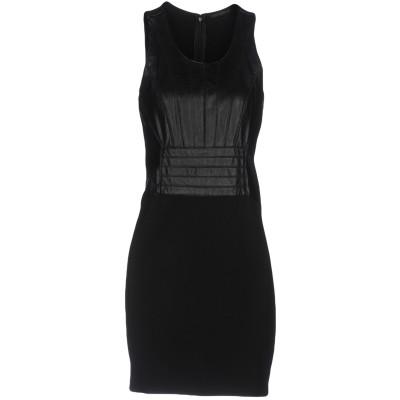 シルビアンヒーチ SILVIAN HEACH ミニワンピース&ドレス ブラック M ポリウレタン 100% / レーヨン / ナイロン / ポリウレ