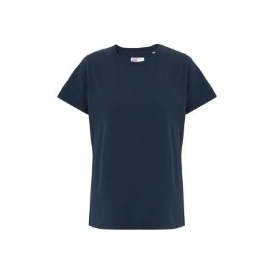 COLORFUL STANDARD T シャツ ダークブルー XS オーガニックコットン 100% T シャツ