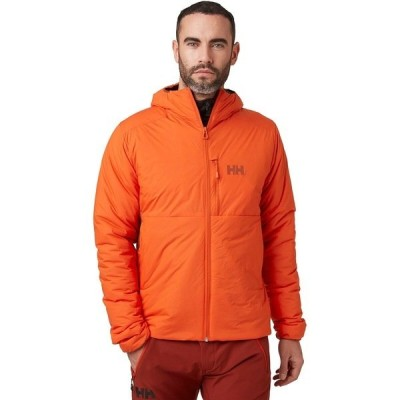 ヘリーハンセン ジャケット&ブルゾン メンズ アウター Odin Stretch Hooded Insulator Jacket - Men's Patrol Orange