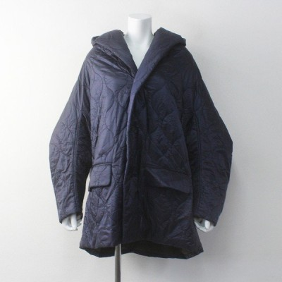 【セール8%OFF!】定価11万 Y's Yohji Yamamoto ワイズ ヨウジヤマモト Thinsulate シンサレート 中綿 キルティング フード ジャケット 2400011608079