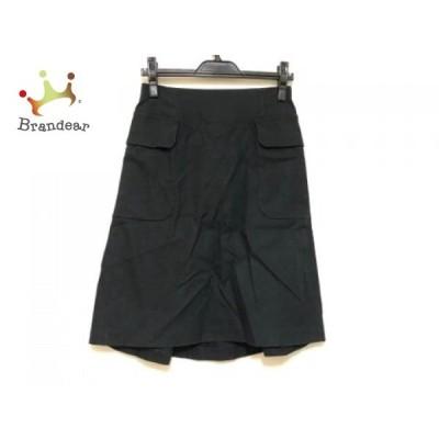 トゥモローランド TOMORROWLAND スカート サイズ38 M レディース ネイビー     スペシャル特価 20200508