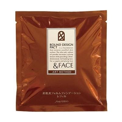 資生堂 &フェイス アートメソッド ラウンドデザインパクト (レフィル) ベージュオークル10