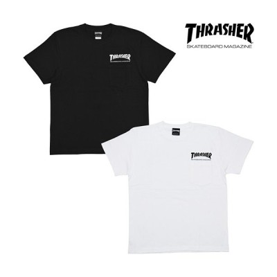 THRASHER(スラッシャー) MAG POCKET T-SHIRT
