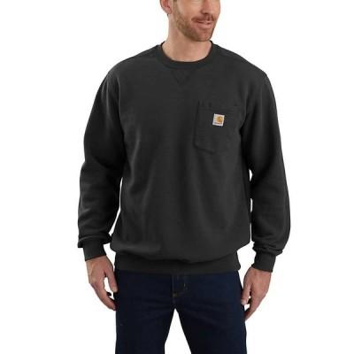 カーハート Carhartt メンズ スウェット・トレーナー トップス Crewneck Pocket Sweatshirt Black