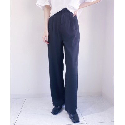 Outfitter lab / セミワイドイージーパンツ WOMEN パンツ > スラックス