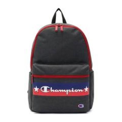Champion(チャンピオン)チャンピオン リュック Champion リュックサック ジョーイ バックパック デイパック 通学 部活 スクールバッグ A4 中学生 高校生 男子 女子 57466 ブラック(01)