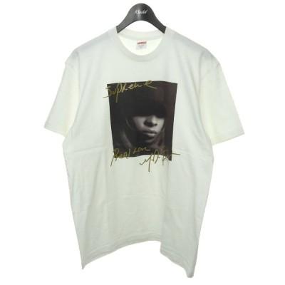 SUPREME 2019AW 「Mary J. Blige Tee」メアリーJブライジTシャツ ホワイト サイズ:M (渋谷店) 210303