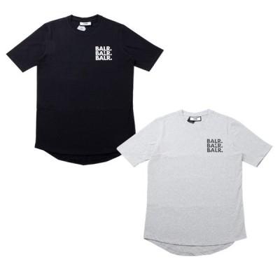 ボーラ— Tシャツ BALR 半袖 丸首 TRIPLE ATHLETIC T-SHIRT メンズ b10065 ラッピング不可