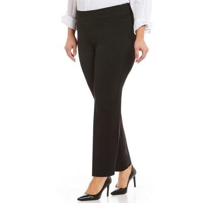 インベストメンツ レディース カジュアルパンツ ボトムス Plus Size the PARK AVE fit Classic Ankle Pant Black