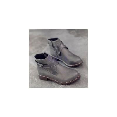 ブーツレディースシューズショートブーツ太ヒールパンプス痛くない靴秋冬新作美脚ブーツあったか美脚オシャレJNVQ-AL1174