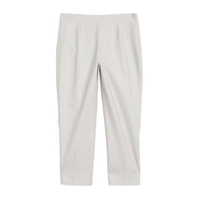 ニックプラスゾーイ レディース カジュアルパンツ ボトムス Perfect Side Zip Ankle Pant POWDER