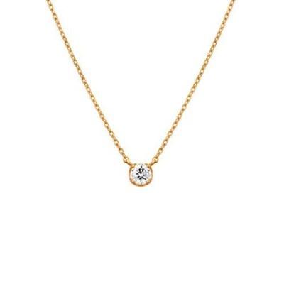 4℃(ヨンドシー) ダイヤモンドK18ピンクゴールド(PG)ネックレス 111731123106