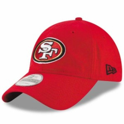 New Era ニュー エラ スポーツ用品  New Era San Francisco 49ers Scarlet Core Shore 9TWENTY Adjustable Hat