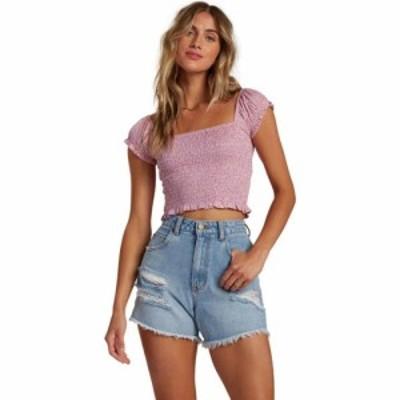 ビラボン Billabong レディース トップス always sweet shirt Lit Up Lilac