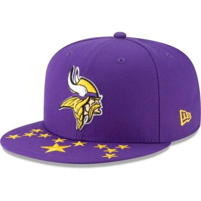 ミネソタ・バイキングス New Era 2019 NFL Draft On-Stage Official 59FIFTY Fitted キャップ - Purple