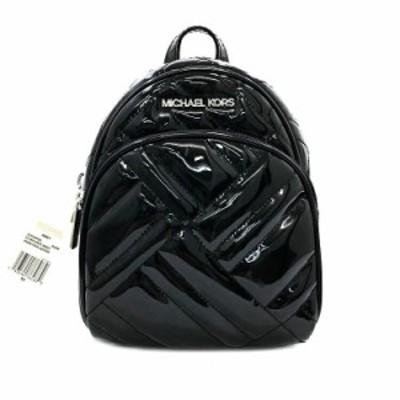 マイケルコース ミニリュック 黒 35T0SAYC8L 未使用 展示品 美品 リュック バックパック 旅行 キルティング タグ付き エナメル Sランク M