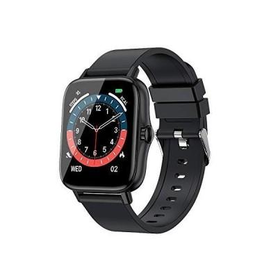 2021最新版 スマートウォッチ Bluetooth通話 1.7インチ大画面 文字盤自由設定 Bluetooth5.0 女性機能 GPS運動