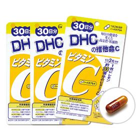 DHC維他命C(30日份)3包組