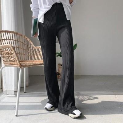 ENVYLOOK レディース パンツ Nana Ribbed trousers