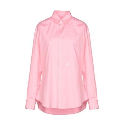 ディースクエアード DSQUARED2 シャツ ピンク 44 コットン 97% / ポリウレタン 3% シャツ
