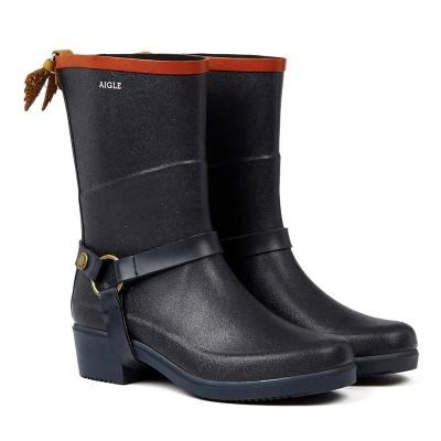 AIGLE エーグル  婦人靴レインシューズ 22.5cm→24.5cm 22.5cm レディース