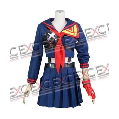 キルラキル 纒龍子(まといりゅうこ) 制服 鮮血 風 コスプレ衣装