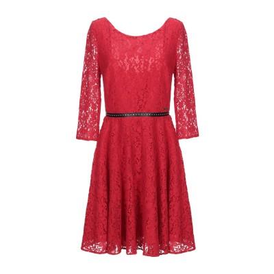 ゲス GUESS ミニワンピース&ドレス レッド XS コットン 73% / ナイロン 27% ミニワンピース&ドレス