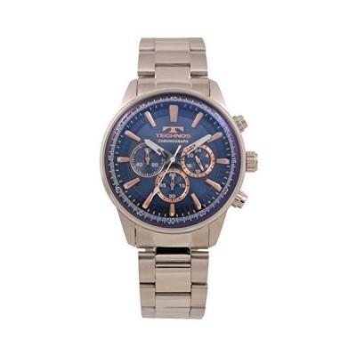 [テクノス] 腕時計 T8A31SN メンズ シルバー