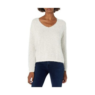 NIC+ZOE Women's The Right Fluff Sweater, Neutral Mix, X-Large並行輸入