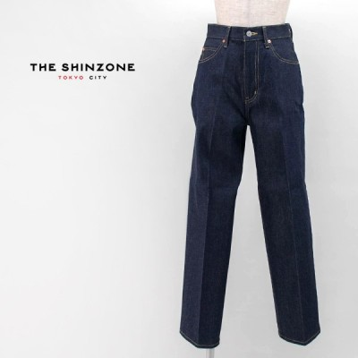 THE SHINZONE シンゾーン レディース ハイウエスト アイビージーンズ(20AMSPA65)(2021SS)