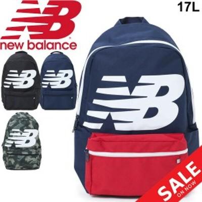 リュック デイパック ニューバランス Newbalance ロゴバックパック 17L スポーツバッグ メンズ レディース ビッグロゴ カジュアル かば