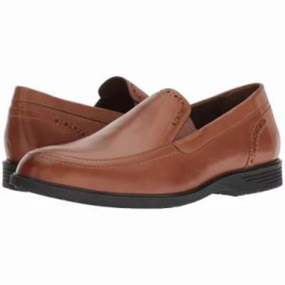 ハッシュパピー スリッポン・フラット Shepsky Slip-On Dark Tan Leather