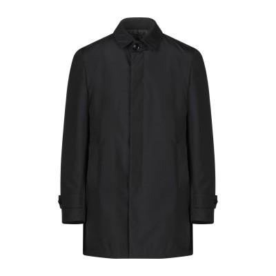 アレッサンドロデラクア ALESSANDRO DELL'ACQUA コート ブラック 48 ポリエステル 100% コート