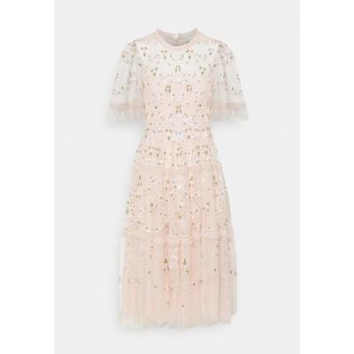 ニードルアンドスレッド ワンピース レディース トップス DITSY RIBBON MIDI DRESS - Cocktail dress / Party dress - strawberry icing