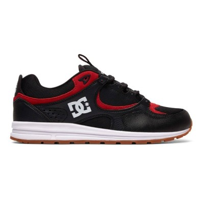カジュアルシューズ ディーシーシューズ DC Shoes Kalis Lite Shoes ADYS100291 BLACK/ATHLETIC RED