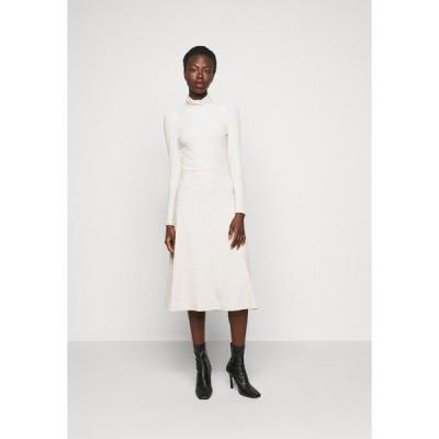 オンリー トール ワンピース レディース トップス ONLNELLA ROLL NECK DRESS - Jumper dress - pumice stone/melange